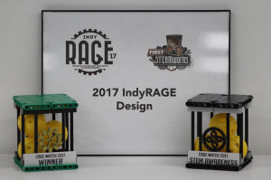 Indy RAGE and CAGE Match Trophies